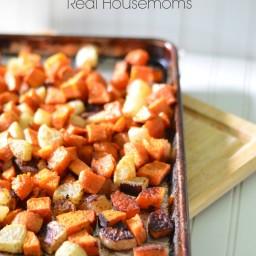 Simple Maple Roasted Vegetables