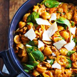 Simple San Marzano Pasta e Fagioli
