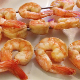 Skewered Shrimp Dijon
