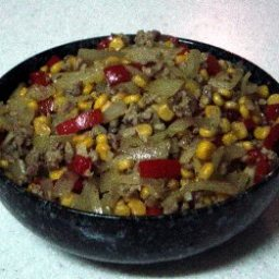 Skillet Curried Beef