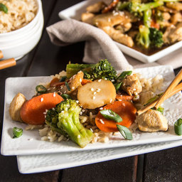 Skinny Chicken Broccoli Stir Fry