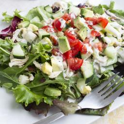 Skinny Cobb Salad