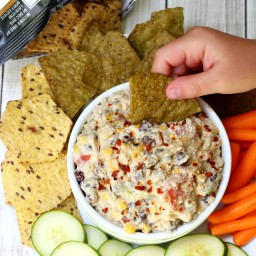 Skinny Mexican Cottage Cheese Dip