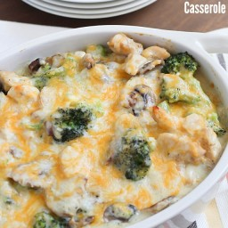 Skinny Chicken  and  Broccoli Casserole