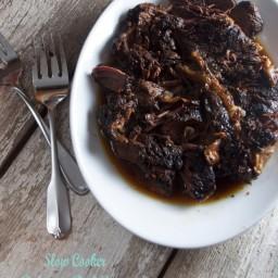 Slow Cooked Balsamic Beef Roast
