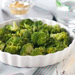 Slow-Cooked Broccoli with Garlic & Pancetta