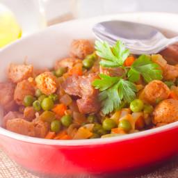 Slow-Cooked Spezzadine (Crockpot Italian Beef Stew)