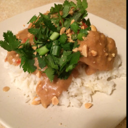 Slow Cooked Thai Chicken