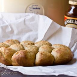 Slow Cooker Apple Butter Yeast Rolls Recipe