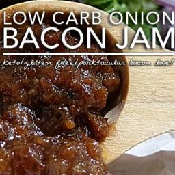 Slow Cooker Bacon Onion Jam – Low Carb and Gluten Free