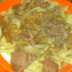 Slow Cooker Beef and Mushrooms