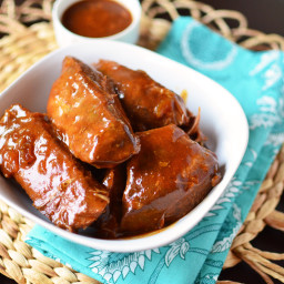 Slow Cooker Boneless BBQ Pork Ribs
