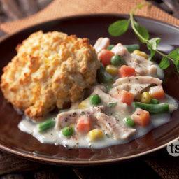 Slow Cooker Chicken a la King Recipe