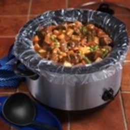 Slow Cooker Chunky Beef Vegetable Soup