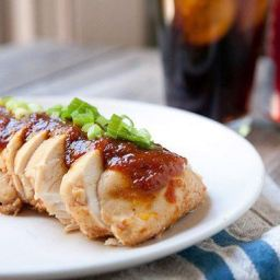 Slow Cooker Coca-Cola BBQ Chicken