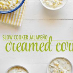 Slow-Cooker Jalapeño Creamed Corn