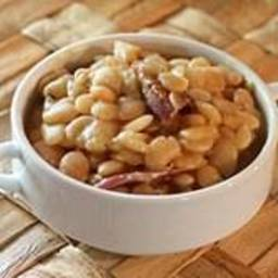 Slow Cooker Lima Beans