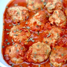 Slow Cooker Paleo Turkey Meatballs