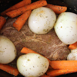 Slow Cooker Pot Roast with Homemade Gravy