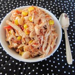 Slow Cooker Shredded Chicken Tex-Mex