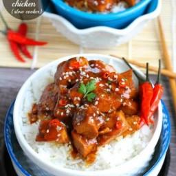 {Slow Cooker} Sriracha Chili Chicken