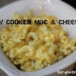Slow Cooker Three Cheese Macaroni Recipe