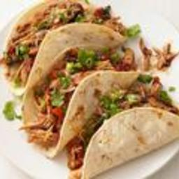 Slow-Cooker Turkey Mole Tacos