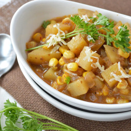 Slow Cooker Mexican Corn and Potato Chowder (Gluten-Free, Dairy-Free Option