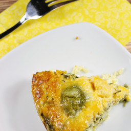 Slow Cooker Spinach  and  Feta Quiche