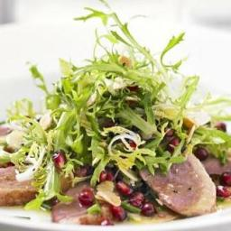 Smoked Duck and Asparagus Salad