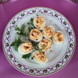 Smoked-Salmon Deviled Eggs