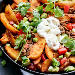 Smokey Mexican Beef Wedges