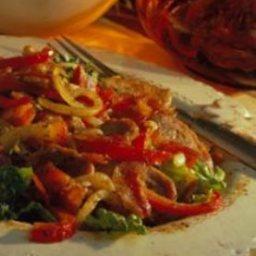 Smoky Mexican Pork Stir Fry