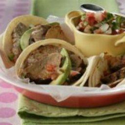 Smoky Pork Tenderloin Tacos