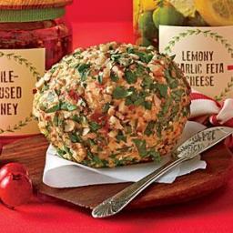 Smoky Bacon-Cheddar Cheese Ball