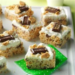 S'mores Crispy Bars Recipe