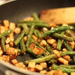 Snake Beans with Tofu