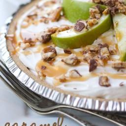Snicker caramel apple pie {YUMMY}