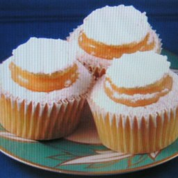 Snow-Capped Lemon Fairy Cakes