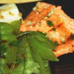 Snow Peas with Shrimp