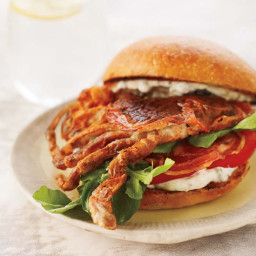 Soft-Shell Crab Sandwiches with Pancetta and Remoulade