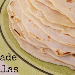 Soft Homemade Tortillas