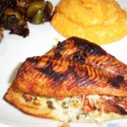 Sole Fillets Stuffed With Crab