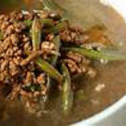 Sopa de Carne Molida