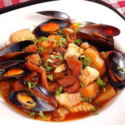 Sopa De Mariscos- Seafood Stew/soup, Using A Sofrito