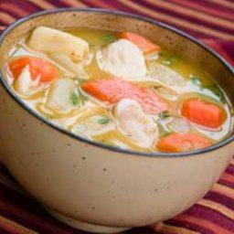 Sopa De Pollo (Cuban Style Chicken Soup)
