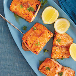 Sorghum-Roasted Salmon