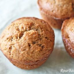 Sour Cream Banana Muffins
