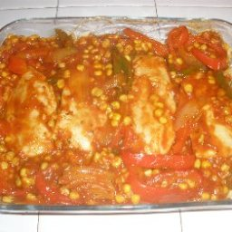 South Of The Border Chicken Cacciatore