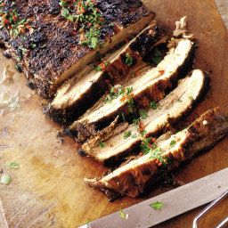 Southern barbecued pork belly